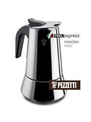 Moka konvice Pezzetti SteelExpress 4 šálky