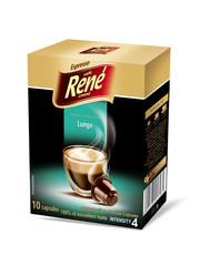 René Espresso Lungo 10x kapsle pro Nespresso
