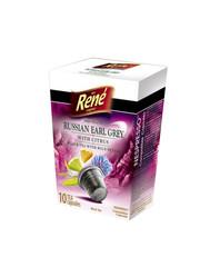 René černý čaj Earl Grey s citronem kapsle pro Nespresso 10ks