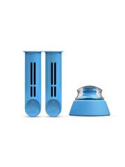 Dafi náhradní filtr 2 ks + víčko pro filtrační láhev modré