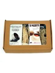 Dárkový set moka konvice Pezzetti Ital 3 plus mletá káva