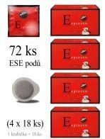 Vergnano Espresso ESE pody 4 x 18 ks