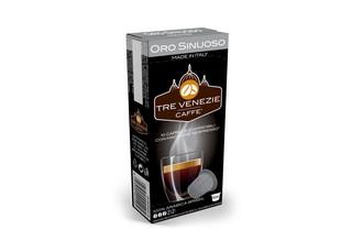 Tre Venezie ORO SINUOSO kapsle pro kávovary Nespresso 10 ks