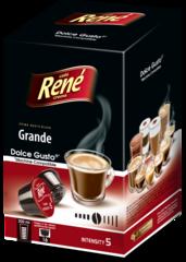 René Grande kapsle pro Dolce Gusto 16ks