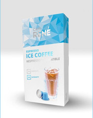 René Ice Coffee kapsle pro Nespresso 10 ks