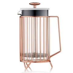 Barista & Co French Press Coral, 8 šálků, Copper