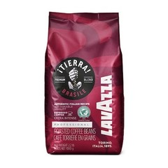 Lavazza Tierra Brazil EXTRA INTENSE red zrnková káva 1 kg