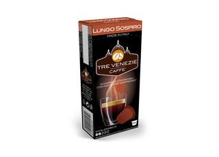 Tre Venezie LUNGO SOSPIRO kapsle pro kávovary Nespresso 10 ks