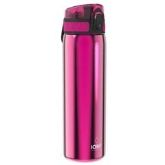ion8 Leak Proof nerezová láhev Pink, 600 ml