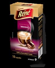 René Intensiva kapsle pro Nespresso 10 ks